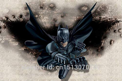 3d Incroyable Batman Murale Personnalisée Grande Photo Papier Peint Super Héros Chambre Décor Mur Art Chambre Enfants Chambre Fond Wal Largeur200cm * Hauteur200cm A