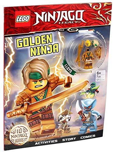 Lego Ninjago Activity Book (Activity Book With Minifigure)