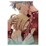 perfect-kim Anime Nanatsu no Taizai The Seven Deadly Sins Poster,1pcs Anime Character Poster Hanging Paintings Wall Art Coated Paper Poster(H05)