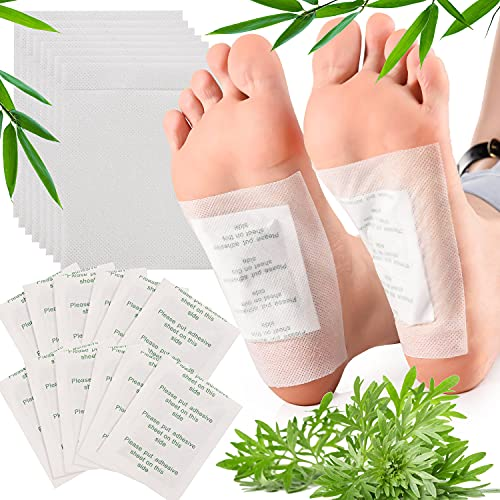 FORMIZON 100 pcs Detox Fußpflaster, Detox Pflaster Fuß zur Entgiftung Körpergift Entfernen, Entgiftungspflaster Füße für Stressabbau, Detox Pflaster Natürlich Gesundheitspflege Fußpflege-Pads
