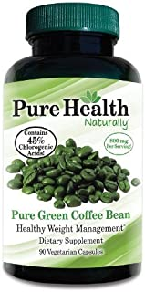 Pure Health Green Coffee Bean Extract - 800 mg Capsules - 90 Capsules by Pure Health