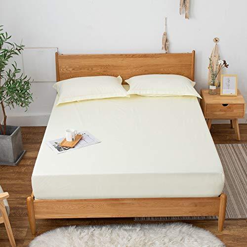 Huyiming gebruikt voor waterdicht dekbed, eendelige eenkleurige beschermhoes, dekbed, antislip, matras, stofbescherming, 1,8 m