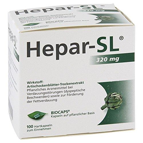 Hepar-SL 320 mg, 100 St. Hartkapseln