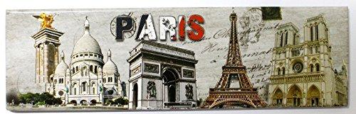 AKER Magnet Aimant frigo MGA10 Cuisine Souvenir France Paris Cadeaux Tour Eiffel 17X5cm