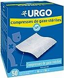 URGO - COMPRESSES de Gaze 50 Sachets 10cmx10cm