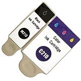 2 Druckerpatronen kompatibel für Samsung CJX-1000 CJX-1050W CJX-2000FW Patronen kompatibel zu INK-M210 INK-C210 INK-M215