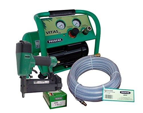 PREBENA® Druckluftnagler 2P-J50SDS Kombi-Paket