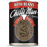 Chilli Man • Canned Chili With Beans, Lean Meat, 15 ounce (Pack of 12)