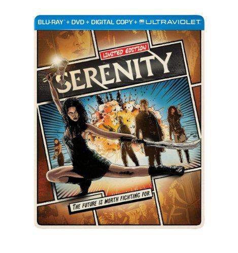 Serenity (2005) Limited Edition Blu-ray Steelbook