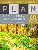 5 year Monthly Planner 2020-2024: 2020-2024 Five Year Planner | 60 Months Calendar, 5 Year Appointment Calendar, Business Planners, Agenda Schedule Organizer Logbook and Journal
