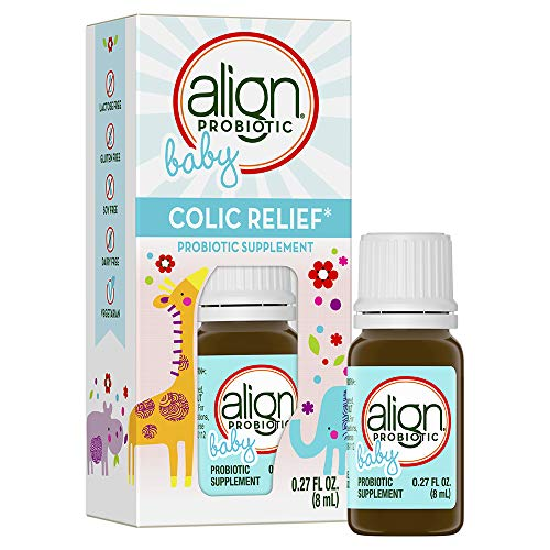 Align Baby & Infant Probiotic Drops, 25 Servings of Colic Relief - Helps Soothe Fussiness and Crying