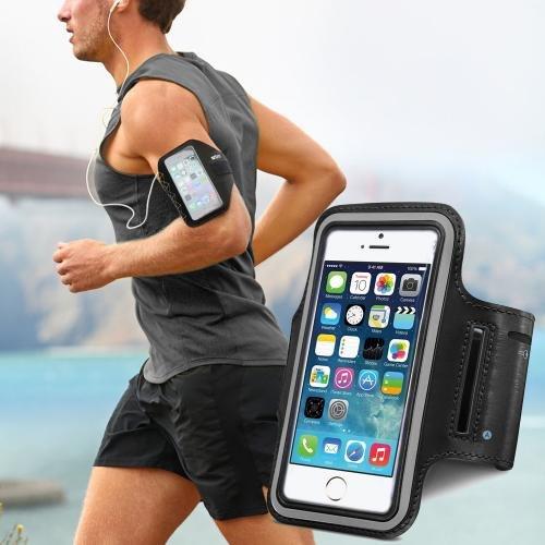 Sportarmband hardlopen iPhone 6+ met 5.5 inch scherm (groot model) met sleutelhouder