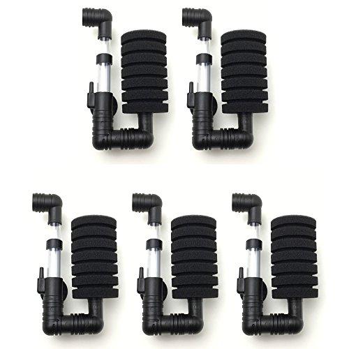RedBeryl 選べるセット シングル スポンジフィルター 水槽 ろ過装置 (XY2830 5個)