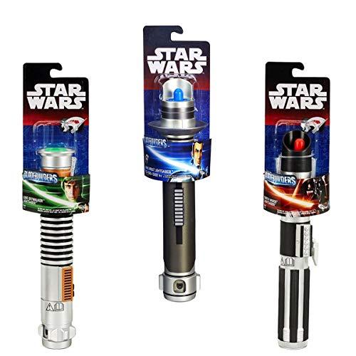 Savahe Hasbro Star Wars LASERSCHWERT # Basis  Lichtschwert  Waffe Darth Vader, Luke Skywalker,Kanan Jarrus (Rot)