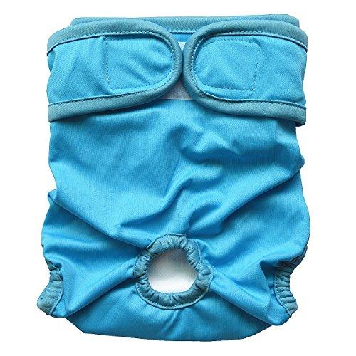 Chiffon réutilisable lavable Couches pour chien femelle