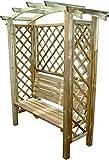 Blinky 7969610- Pérgolas de madera, modelo banco-con-arco