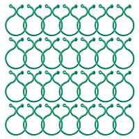 ガーデニング 園芸用具 園芸用便利クリップ クリップ 支柱 接木 つる 100個セット