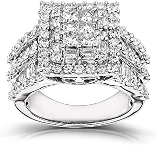 Best 2 carat white gold diamond ring Reviews