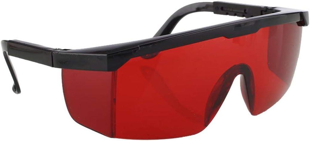 Gafas de protección láser para IPL/E-Light Opt Punto de congelación Depilación Gafas Protectoras Gafas universales Gafas-Rojo (BCVBFGCXVB)