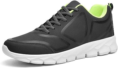 Hiver Casual Hommes Chaussures Bas Chaussures De Plein Air Sports Grandes Chaussures de Course 48 Rouge, Vert Fluorescent,fluorescentvert,42