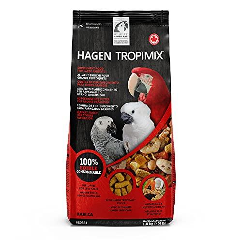 Tropimix Premium Enrichment Food for Large Parrots by Hagen,