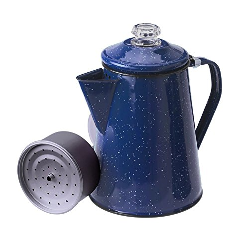 GSI Outdoors 8 Cup Enamelware Percolator