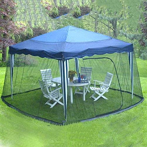 REWD Portable Mosquito Net Cover Screen Netting Parasol Cover Turn Your Parasol for Indoor and Outdoor, Camping - Excluding Umbrella and Foundation