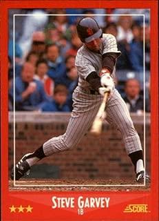 1988 Score Baseball Card #225 Steve Garvey