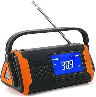 防災ラジオ ラジオライト 懐中電灯 手回し充電 USB充電 AM/FM ソーラーラジオ 地震 震災 津波 台風 停電緊急対策