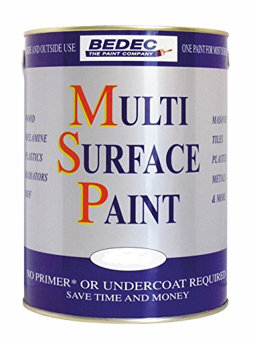Bedec BEDE2KA0002/29 Gloss Multi Surface Paint 750 ml, Soft White