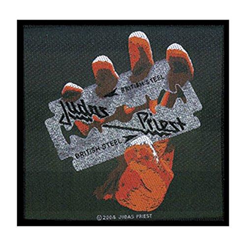 Judas Priest British Steel Unisex Patch Standard 100% Polyester Undefiniert Band-Merch, Bands