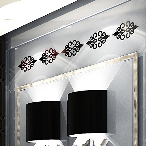 3D Acryl Wandaufkleber, Kolylong® DIY Zimmer Dekoration Aufkleber Dekoration Wandaufkleber Wandtattoos 3D Home Room Decor Decals