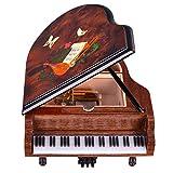 Music Box Musical Box Piano Music Box Wooden Walnut Music Box Birthday Gift for Christmas/New Year Gift Boxs Jewellery Box (Color : 30 Tone)