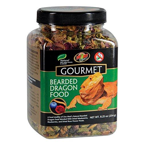 Zoo Med ZM-103 Gourmet Bearded Dragon Food 8.25oz