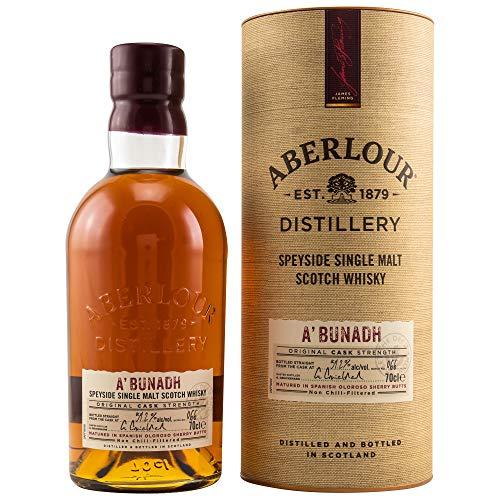 ABERLOUR A'BUNADH BATCH #66 - Single Malt Scotch Whisky 1x0,7L 59,2% vol. in GP
