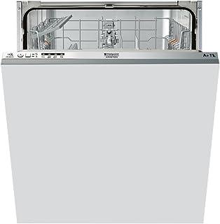Hotpoint LTB 4B019 EU lavavajilla Totalmente integrado 13 cubiertos A+ - Lavavajillas (Totalmente integrado, Tamaño completo (60 cm), Acero inoxidable, Botones, 1,28 m, Canasta)