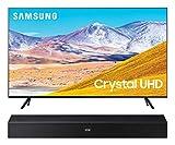 Samsung UN75TU8000 75' 8 Series Ultra High Definition Crystal 4K Smart TV with a Samsung HW-N400 Bluetooth TV Mate Soundbar Speaker