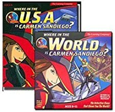 Where in the World & USA is Carmen SanDiego?