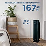 Germ Guardian Large Room Air Purifier, HEPA Filter, Large Rooms, Filters Allergies, Pollen, Smoke, Dust, Pet Dander, UVC Sanitizer Eliminates Germs, Mold, Odors, Quiet 28 inch 4-in-1 AC5350B (Renewed)