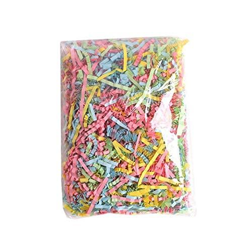 WSJKHY Ezlife 30G/Tas Bruiloft DIY Papier Raffia Versnipperde Crinkle Papier Confetti Gifts Box Vulmateriaal Verjaardag Party Decor Rbg9668