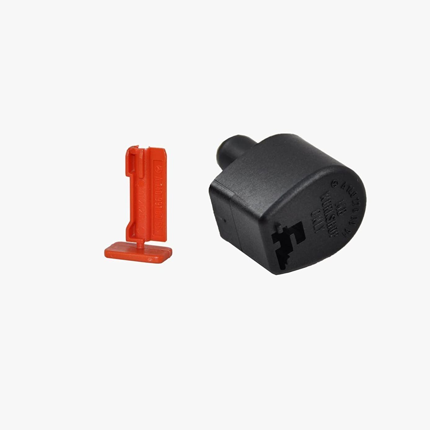 Mercedes-Benz Transmission Dipstick Filler Cap + Lock Pin Genuine OE 10055/00091