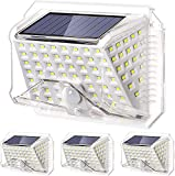 DOOK Luz Solar Exterior 90 LED, [Versión Innovadora 1200mAh]...