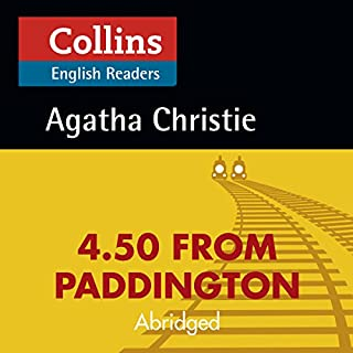 4.50 from Paddington: B2 (Collins Agatha Christie ELT Readers) cover art