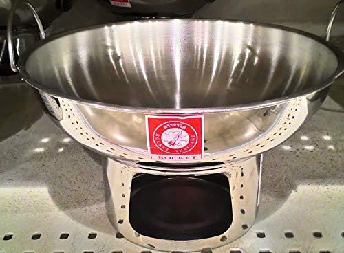 Lowest Prices! Aluminium Soup Hot Pot Tom Yum Boil Bowl Thai Lao Cookware Picnic 20 cm Chafing