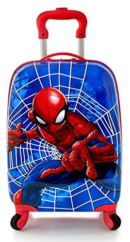 Heys America Marvel Spiderman Spinner Kids Luggage Red One Size