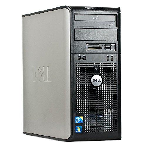 Dell Optiplex 780 Desktop Business Computer PC (Intel Dual Core Processor up to 3.0GHz, 8GB DDR3 Memory, 500GB HDD, DVD Burner, Windows 10 Professional) (Renewed)