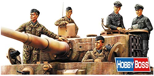 Hobby Boss 084401 1/35 Deutsche Panzerbesatzung, Normandie 1944 Modellbausatz, verschieden