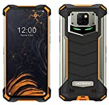 Smartphone Robusto DOOGEE S88 PRO 10000 mAh Batteria, Octa-core 6GB+128GB Android 10, Fotocamera Quadruple 21 MP, 6,3'FHD + Corning Gorilla Glass, Ricarica Wireless, Rugged Telefono IP68 NFC Arancia