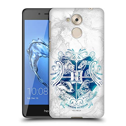 Head Hülle Designs Offizielle Harry Potter Hogwarts Aguamenti Deathly Hallows IX Harte Rueckseiten Handyhülle Hülle Huelle kompatibel mit Huawei Honor 6C Pro / V9 Play
