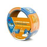 ScotchBlue - Cinta para evitar salpicaduras de pintura (para superficies delicadas, 36 mm x 25 m), color azul